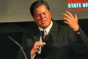 The Destiny Church's covenant demands total support for their 'spiritual father' Brian Tamaki - even when he makes a mistake. (image: Hawkes Bay Today)