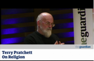 At the Guardian Book Club, bestselling author Terry Pratchett gives his views on science and religion (click for link)