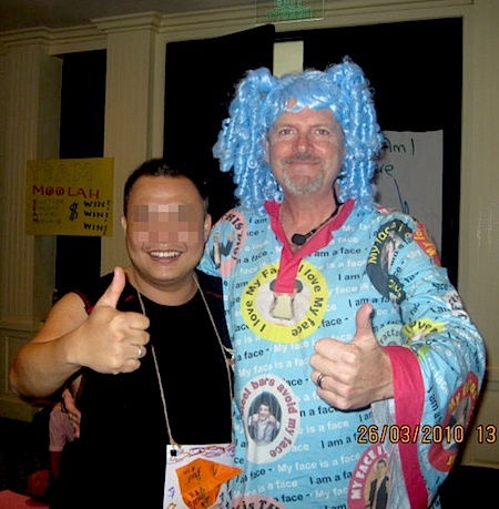 Dean Letfus at Shaun Stenning event Phuket March 2010