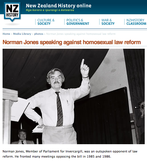 New reform homosexual zealand law