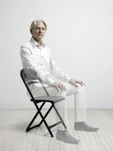 Julian Assange Photo: Phillip Toledano