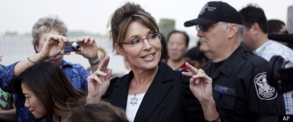 Sarah Palin air quotes