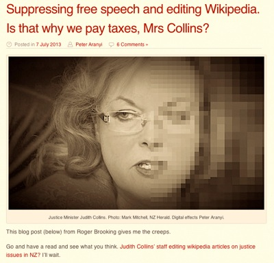 Suppressing free speech