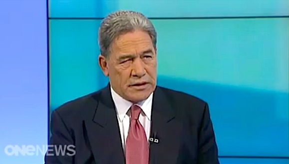 Voice of experience. Winston Peters on TVNZ's Q&A programme today. (click)