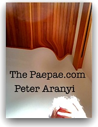 Peter Aranyi's blog The Paepae