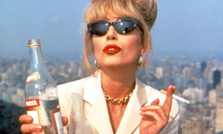 """Don't question me!"" — Joanna Lumley as Patsy in Absolutely Fabulous (pic:"
