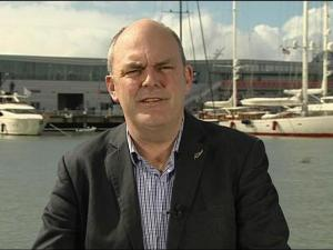 "Steven Joyce on America's Cup and Chorus (click to watch 7'39"" at TVNZ.co.nz)"