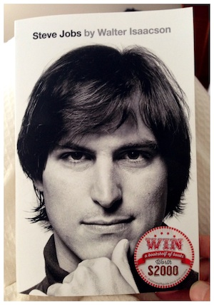 Steve Jobs book cover-300w