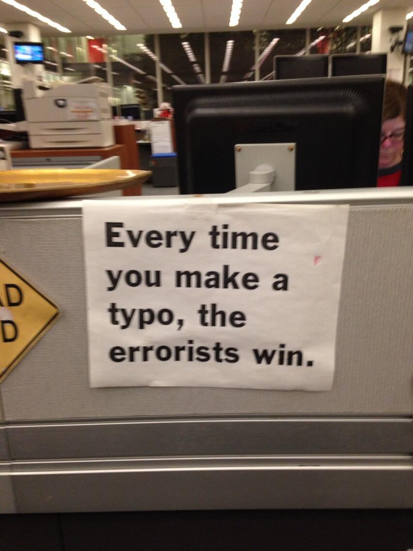 typo-errorists