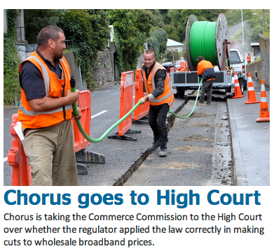 Chorus goes to court
