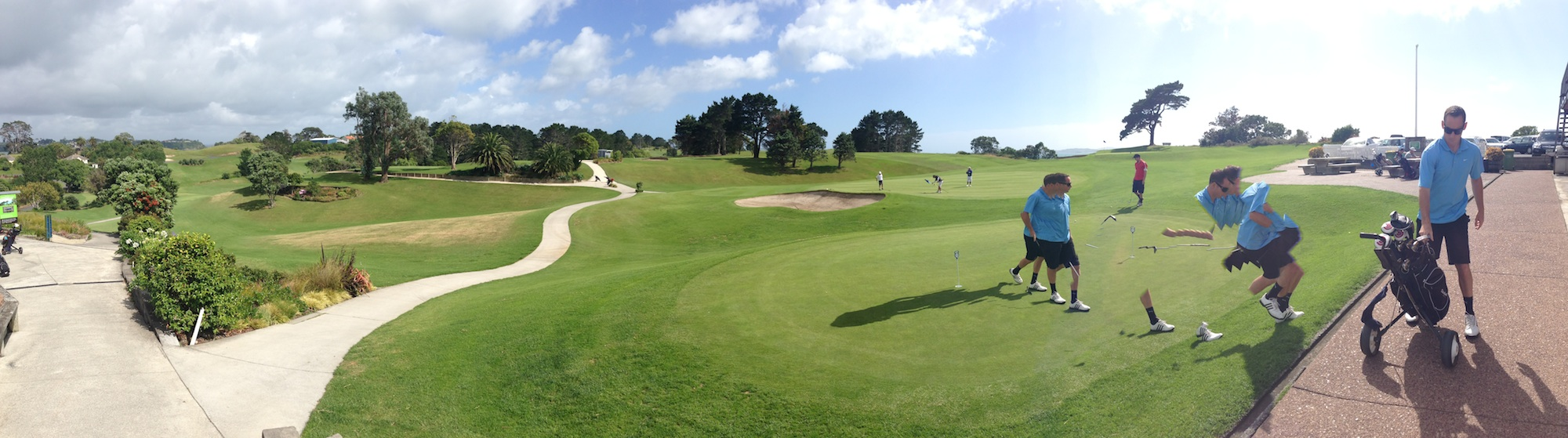 Another perfect day in paradise AKA Howick Golf Club (click to enlarge)