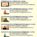 jp digitaltech - youtube testimonials