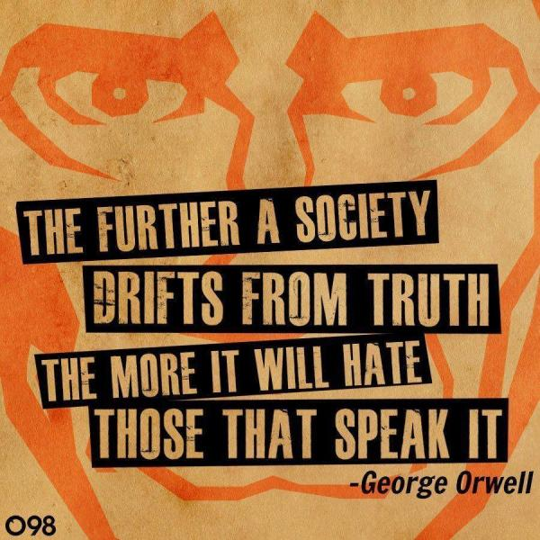 Orwell on speaking out