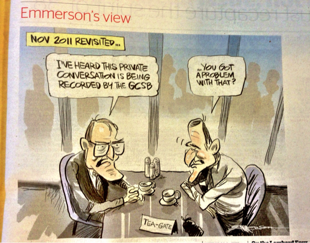 Emmerson cartoon re teapot tapes
