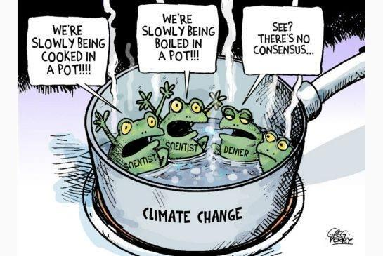 Non consensus on climate change
