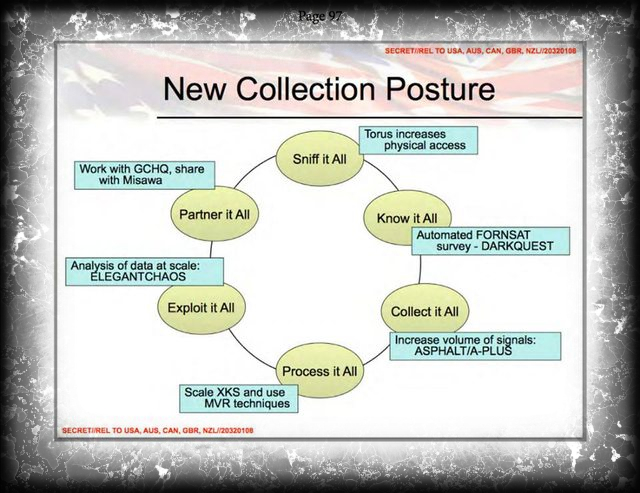 collect it all posture NSA-mica