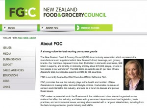 Food and Grocery Council headed by Katherine Rich