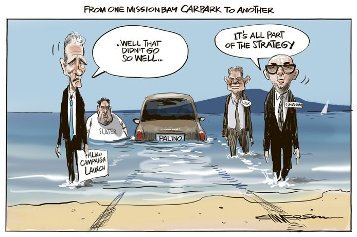 Rod Emmerson sees the funny side too.