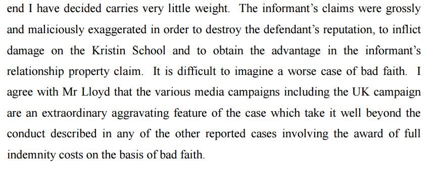 extract Denham judgement